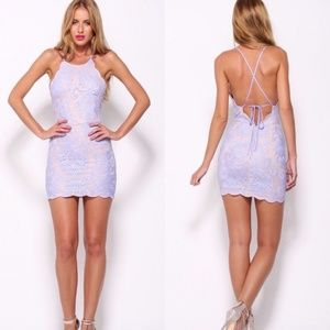 Hello Molly Bedroom Whispers Lace Halter Dress